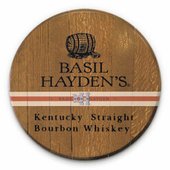 Bourbon Barrel Head -- Basil Hayden's