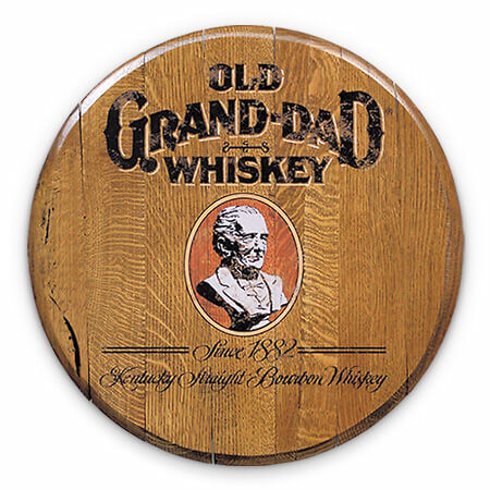 Bourbon Barrel Head -- Old Grand-Dad