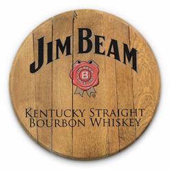 Bourbon Barrel Head -- Jim Beam