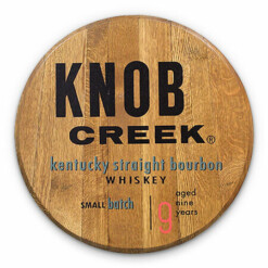 Bourbon Barrel Head -- Knob Creek