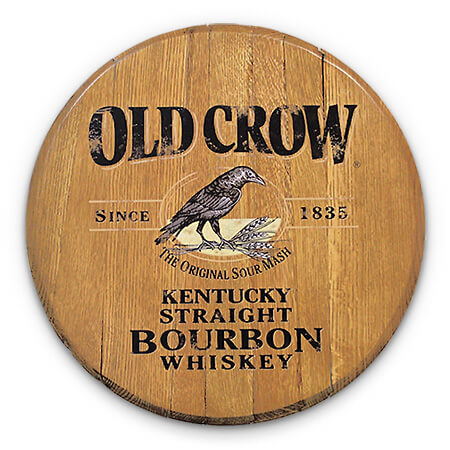 Bourbon Barrel Head -- Old Crow
