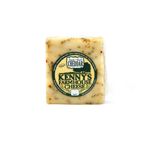Kennys Farmhouse Cheese. Tomato Basil