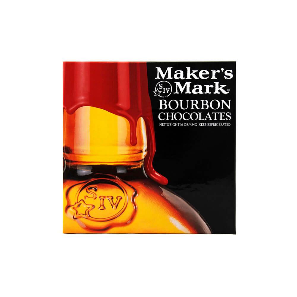 Makers Mark Gourmet Bourbon Balls -- 16oz. Gift Box