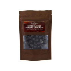 Bourbon Flavored Chocolate Coffee Beans. 3oz