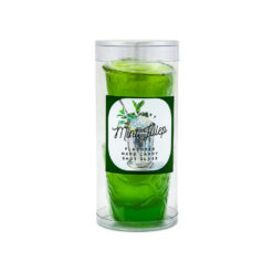 Hard Candy Shot Glass. Mint Julep
