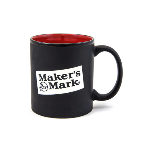 Maker's Mark Black Mug 10 oz