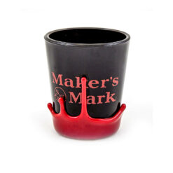 Maker's Mark Black Shot Glass