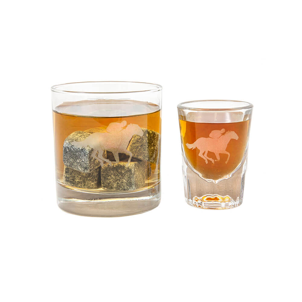 Etched Shotglass