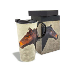 Ceramic Horse mug with Gift Box
