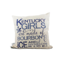 Kentucky Girls Pillow