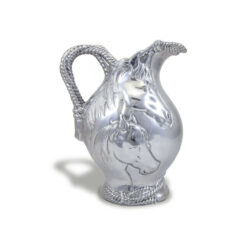 Arthur Court Horse Pitcher with Rope Design