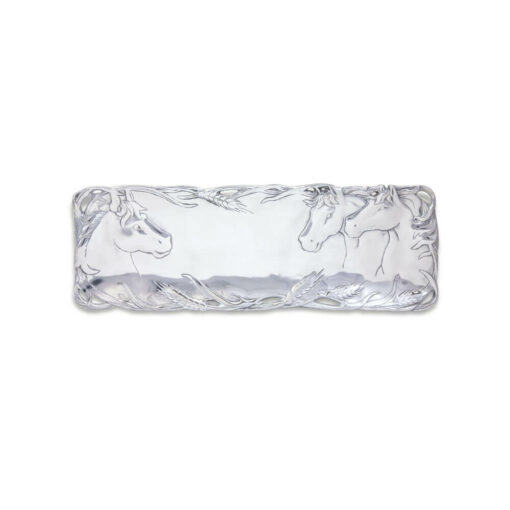 Arthur Court Horse Design Oblong Tray