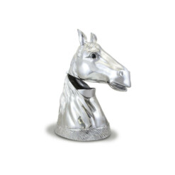 Arthur Court Designs Cast Aluminum Horse Wine Cooler