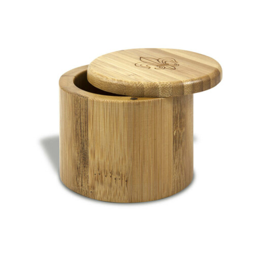 Bamboo salt & Storage Box