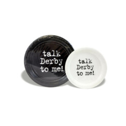 Talk Derby To Me Party Plates
