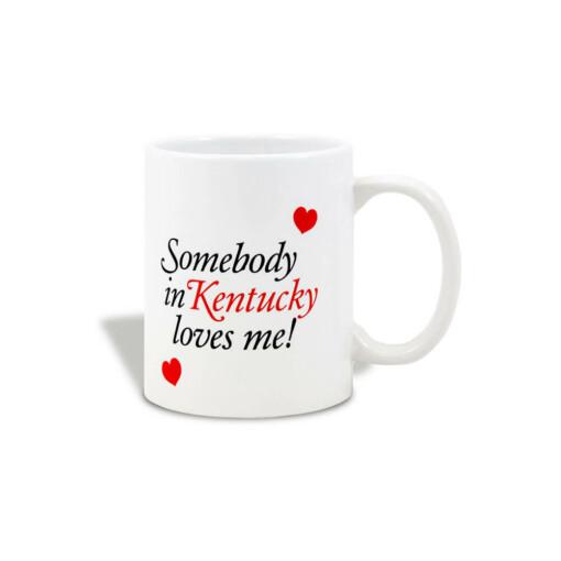 Somebody in Kentucky Loves Me Mug