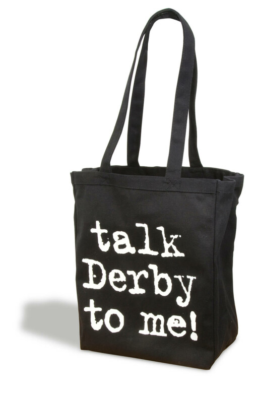 Talk Derby Tote bag