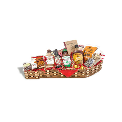 Kentucky Shaped Basket