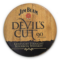 Bourbon Barrel Head -- Devil's Cut