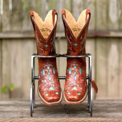 Single Horseshoe Boot Rack