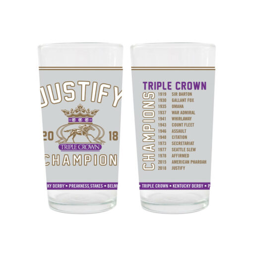 2018 Justify Triple Crown Champion 12 oz