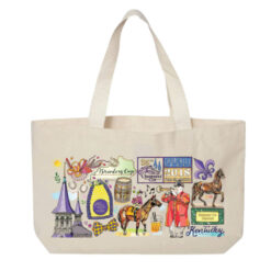 2018 Breeders' Cup Graphic Canvas Tote