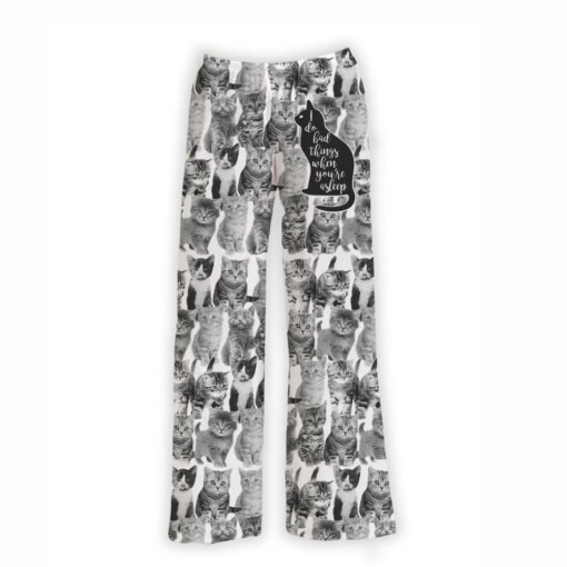 Multi Cat Design Lounge Pants