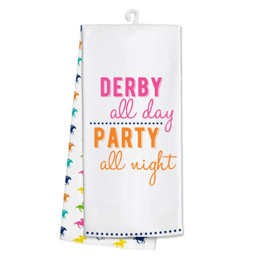 Derby Kitchen Tea Towel Derby Party