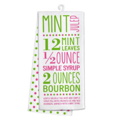 Derby Kitchen Tea Towel Mint Julep