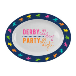 Derby Melamine Oval Platter Derby Party