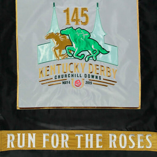 Kentucky Derby 145th Double-Sided Nylon Flag