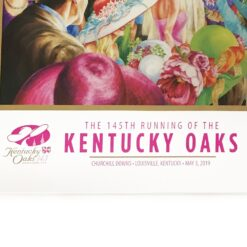 2019 Official 145th Kentucky Oaks Poster