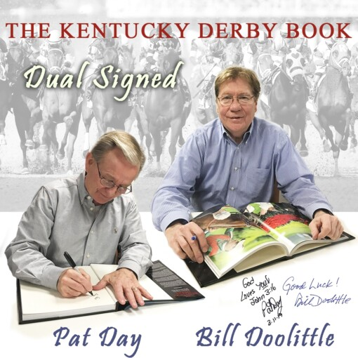 The Kentucky Derby Book Dual Signed