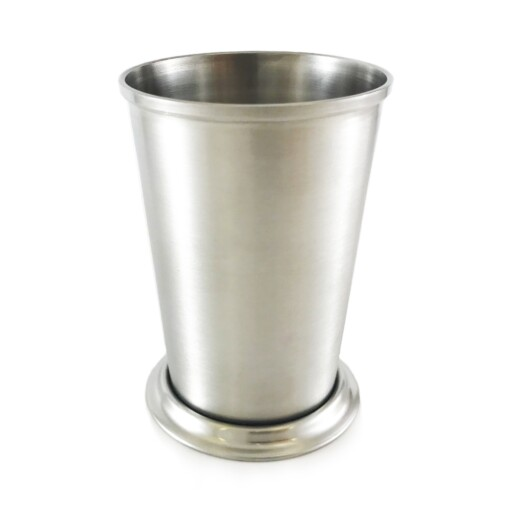 Deluxe Stainless Mint Julep Cup 11 Oz