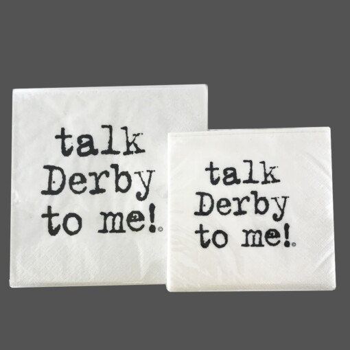 Talk Derby To Me Napkins