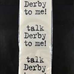 Talk Derby To Me Party Stickers