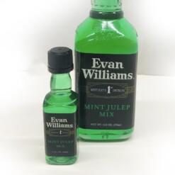Evan Williams Mint Julep Mix Bottle