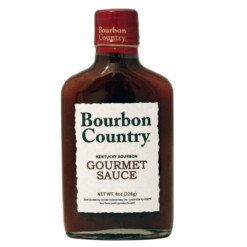 Bourbon Country Gourmet Sauce - 8 Oz.