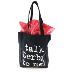 Talk Derby Tote bag