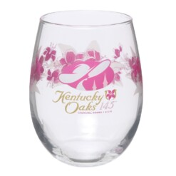 2019 Official 145th Kentucky Oaks Glass