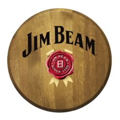 Bourbon Barrel Head - Jim Beam