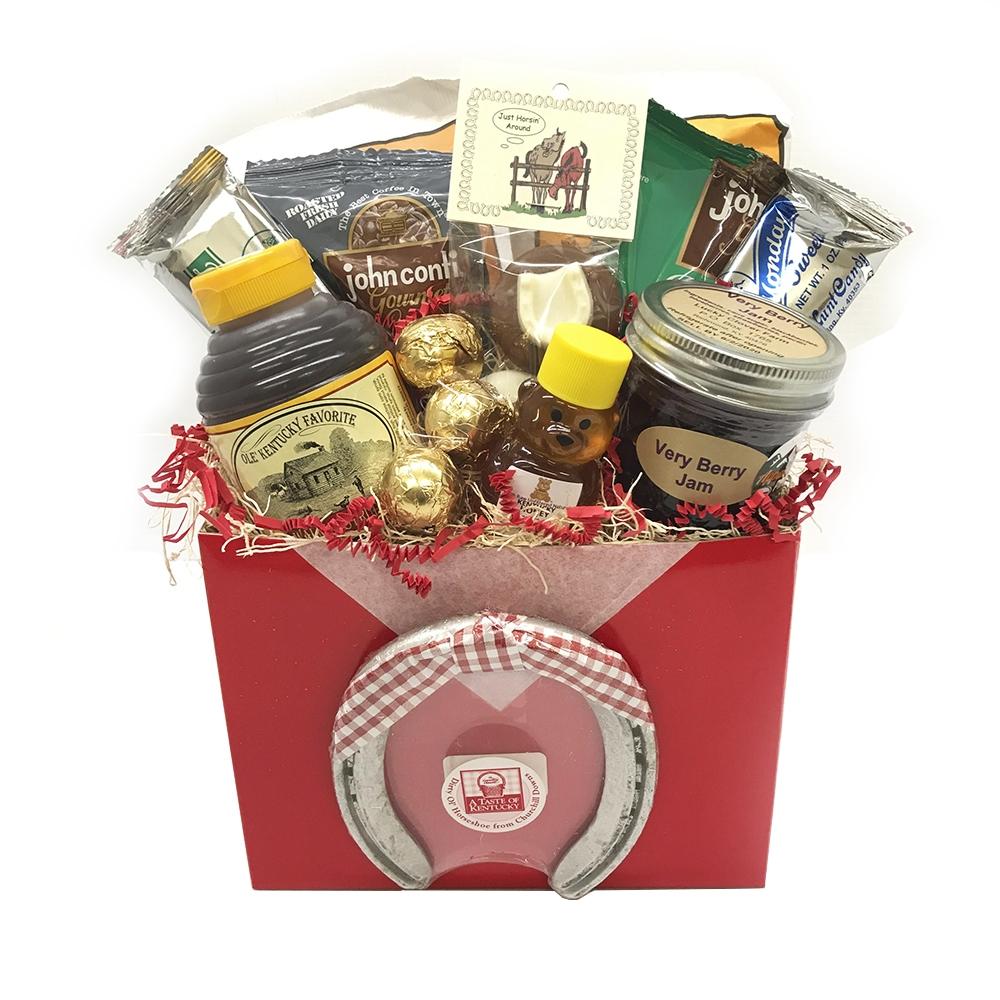 Red Kentucky Gift Box A Taste Of Kentucky