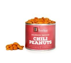 Bourbon Smoked Chili Peanuts