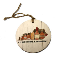 bourbon ornament