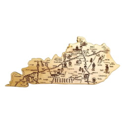 DestinationKentuckyCuttingServingBoard