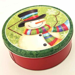 Christmas Candy Tin